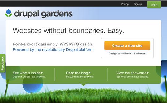 Drupal powerful site builder