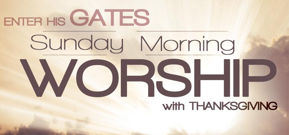 Sunday church services – podcast