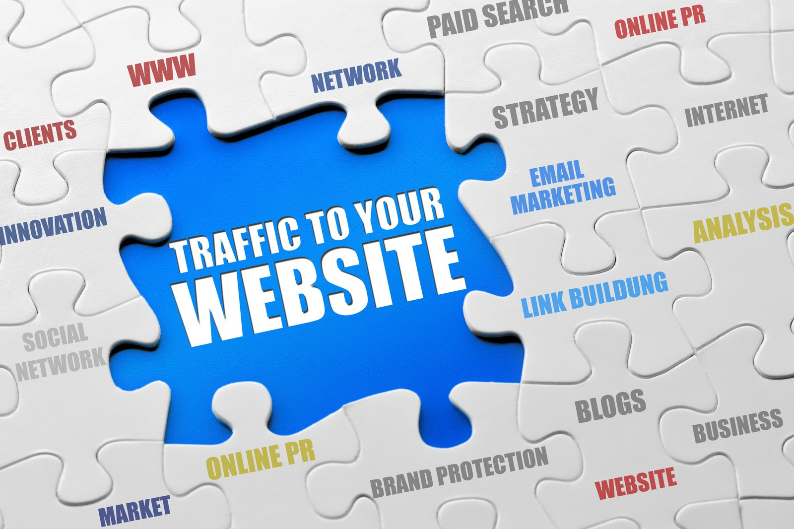Information resources for website traffic.