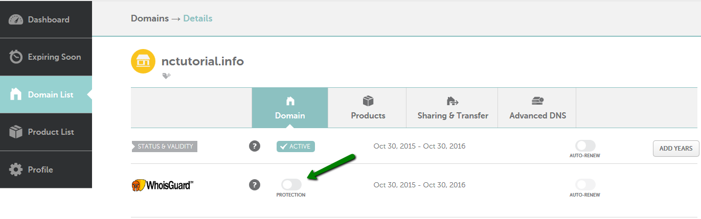 Website domain was suspended in namecheap