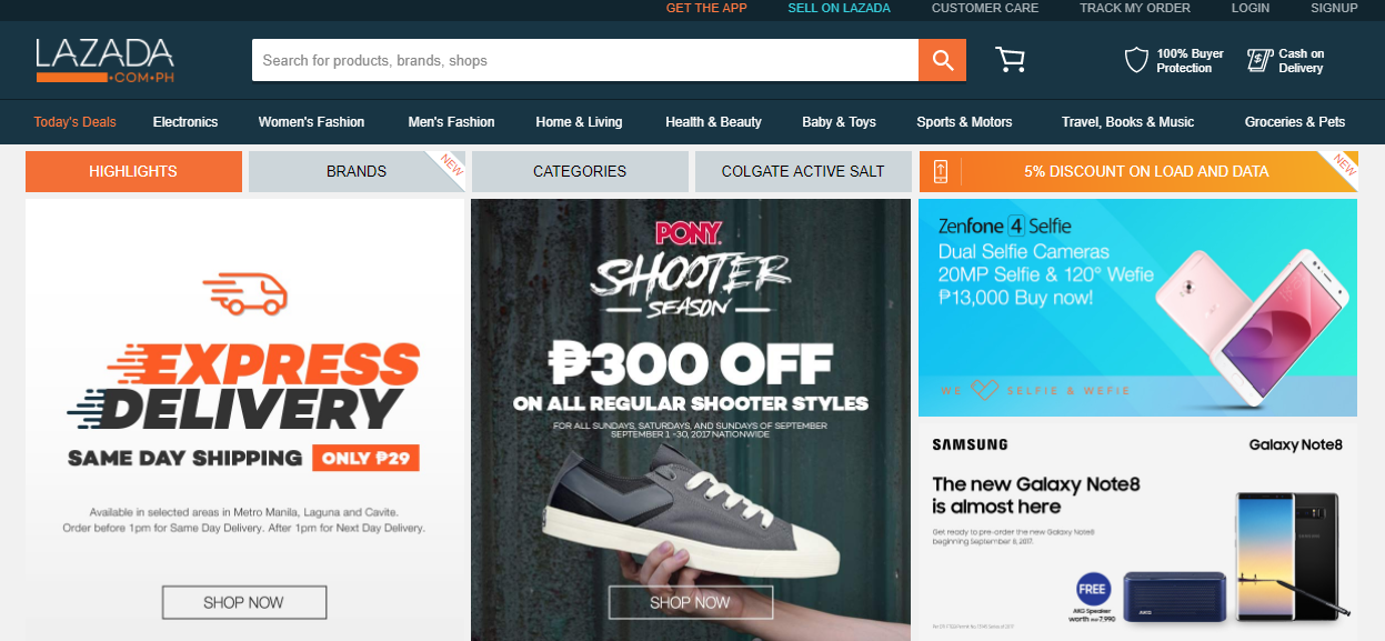 OLX vs Lazada best ecommerce in Philippines