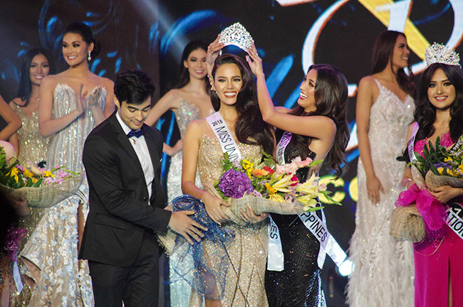 Catriona Elisa Magnayon Gray is titled as miss universe year 2018