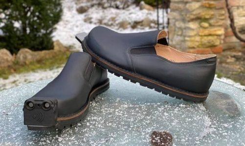 smart shoe modern alternative to the walking stick